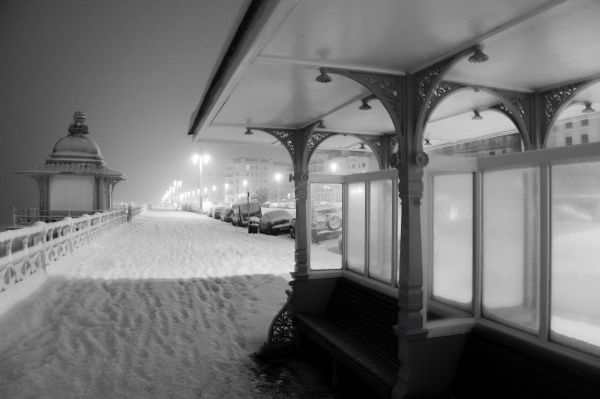 Prom in the snow - Fineart Photography by David Freeman