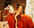 """JOHN COLLIER - LADY GODIVA  20X24 """" OIL PAINTING MUSEUM QUALITY – image 2"""