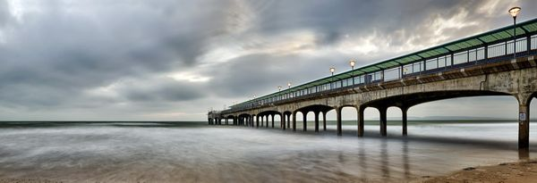 Boscombe Pier - Fineart Photography by David Freeman