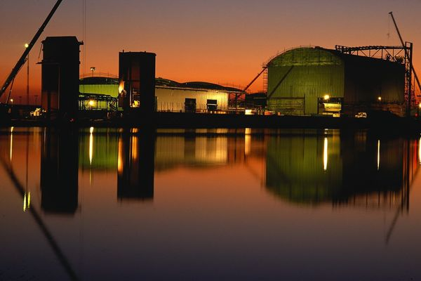 Building the Power Station - Fineart Photography by David Freeman