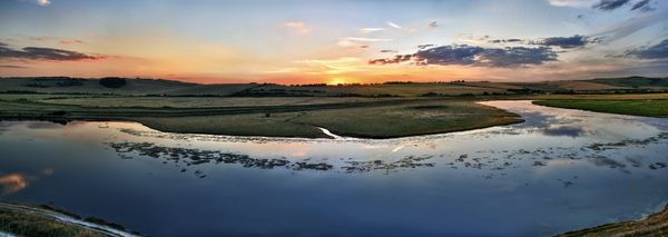 Cuckmere Haven Oxbow - Fineart Photography by David Freeman
