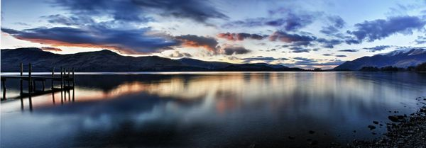 Derwent Water Sunset - Fineart Photography by David Freeman