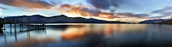 Derwent Sunset - Fineart Photography by David Freeman
