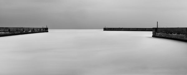 Shoreham Harbour Entrance - Fineart Photography by David Freeman