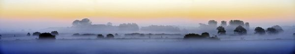 Dawn Mist Lewes  - Fineart Photography by David Freeman
