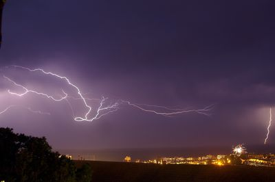 Lightning Over Brighton - Fineart Photography by David Freeman