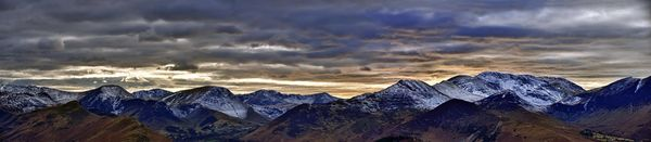 Cambrian Mountain Sunset - Fineart Photography by David Freeman