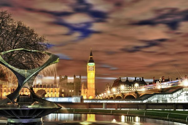 HDR Houses of Prliment & The Thames - Fineart Photography by David Freeman