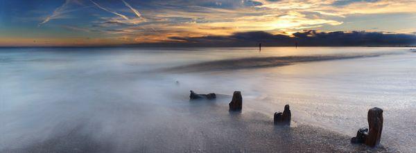 Shoreham Beach Sunset - Fineart Photography by David Freeman