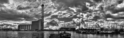 HDR Shoreham Harbour  - Fineart Photography by David Freeman
