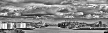 HDR Shoreham Harbour  - Fineart Photography by David Freeman 001
