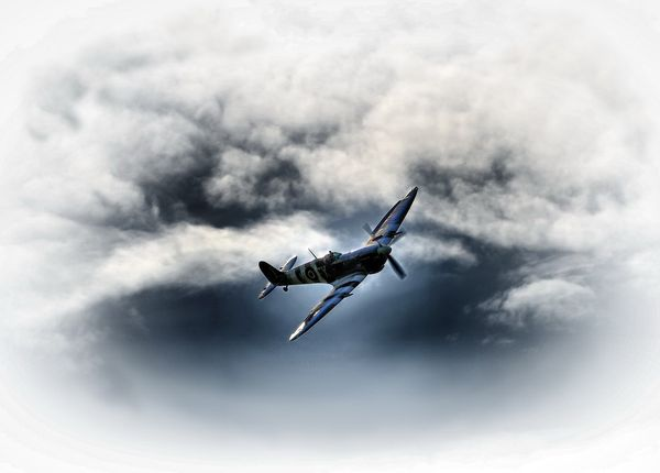 Spitfire - Fineart Photography by David Freeman