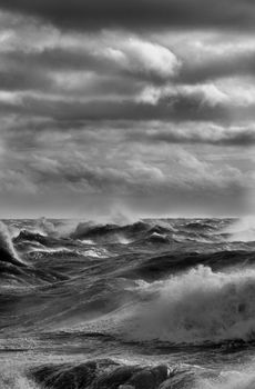 Stormy Seas - Fineart Photography by David Freeman