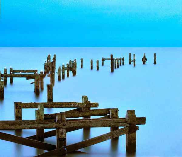 Swanage Old Pier - Fineart Photography by David Freeman