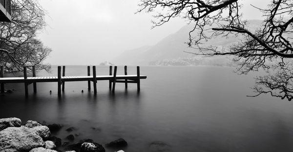 Frozen Dawn, Ullswater Lake District - Fineart Photography by David Freeman