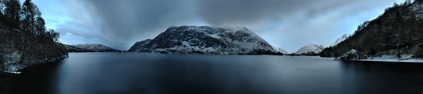 Ullswater Ice - Fineart Photography by David Freeman