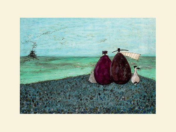 Sam Toft  -  (The Same As It Ever Was) 30X40CM - Mounted Print