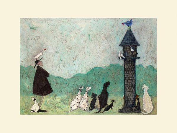 Sam Toft  - An Audience With Sweetheart - 30X40CM - Mounted Print