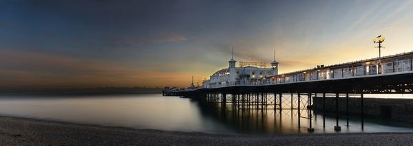 Winter Sun, Brighton Pier - Fineart Photography by David Freeman