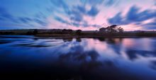 Cuckmere Haven Dusk - Fineart Photography by David Freeman 001