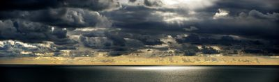 Gathering Storm Over The Channel - Fineart Photography by David Freeman
