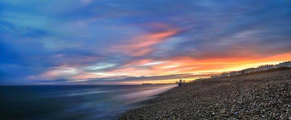 Brighton City Sunset - Fineart Photography by David Freeman