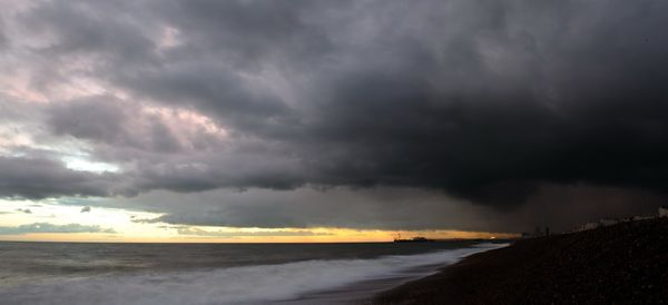 Dark Skies Over Brighton - Fineart Photography by David Freeman