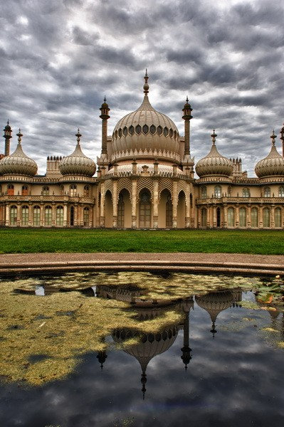 HDR Brighton Pavilion - Fineart Photography by David Freeman