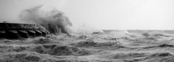 Storm, Brighton - Fineart Photography by David Freeman