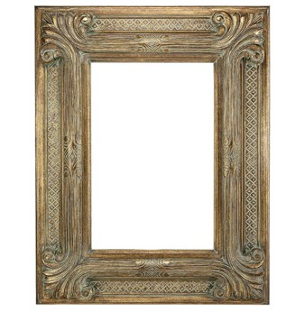 "9 "" ORNATE GOLD (SWEPT) FRAME ""ZELINA"""