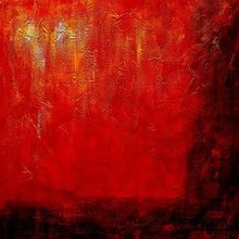 Abstract - Legacy Of Fire  120x120 cm Oil Painting 001