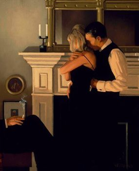 Jack Vettriano - Beautiful Loosers II -   60x80 Art Print