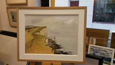 """ Beachy Head "" Eastbourne by Tony Parsons – image 2"