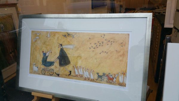 A Pramful of Breadcrumbs - Limited Edition Print by Sam Toft – image 2
