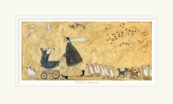 A Pramful of Breadcrumbs - Limited Edition Print by Sam Toft – image 4