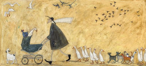 A Pramful of Breadcrumbs - Limited Edition Print by Sam Toft – image 1