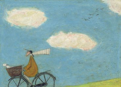 Off in the Clouds - Limited Edition Print by Sam Toft – image 1