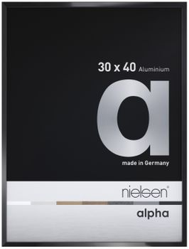 Nielsen Alpha Picture Frame Black Polished 50x70 cm  – image 1