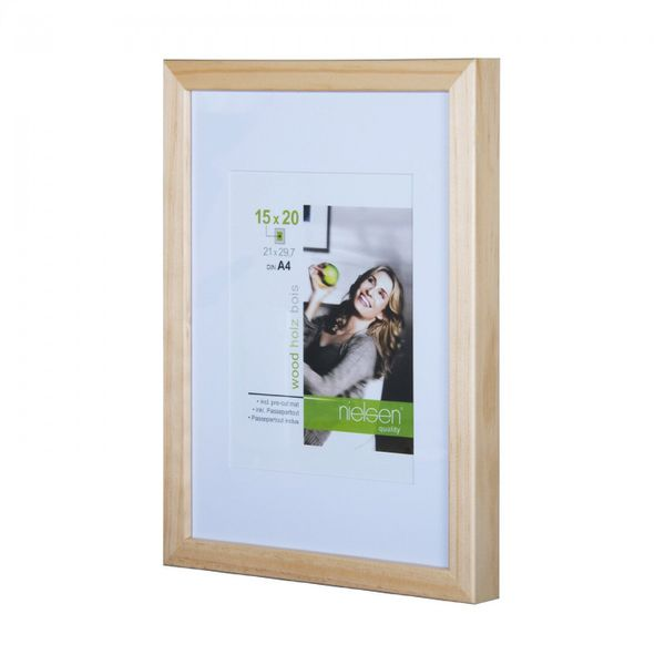 NIELSEN Apollo 50x70 cm Natural Picture Frame – image 1