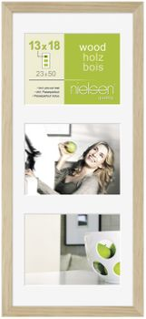 NIELSEN Apollo 5x7inch Natural Picture Frame – image 1