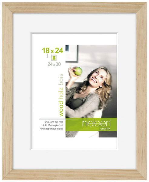 NIELSEN Apollo 7x9inch Natural Picture Frame
