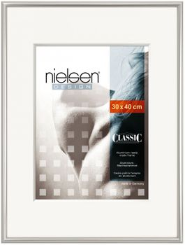 NIELSEN Classic 35x100 cm Polished Silver Picture Frame