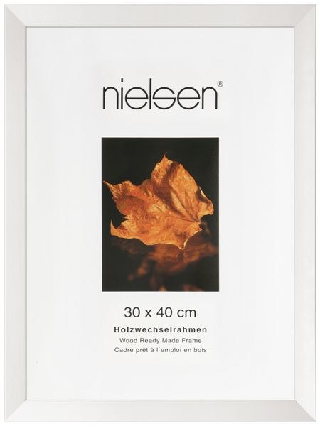 NIELSEN Essentielles A4 White Picture Frame