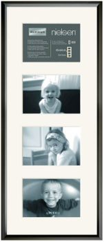 NIELSEN Gallery Junior 25x60 cm Matt Black Picture Frame – image 2