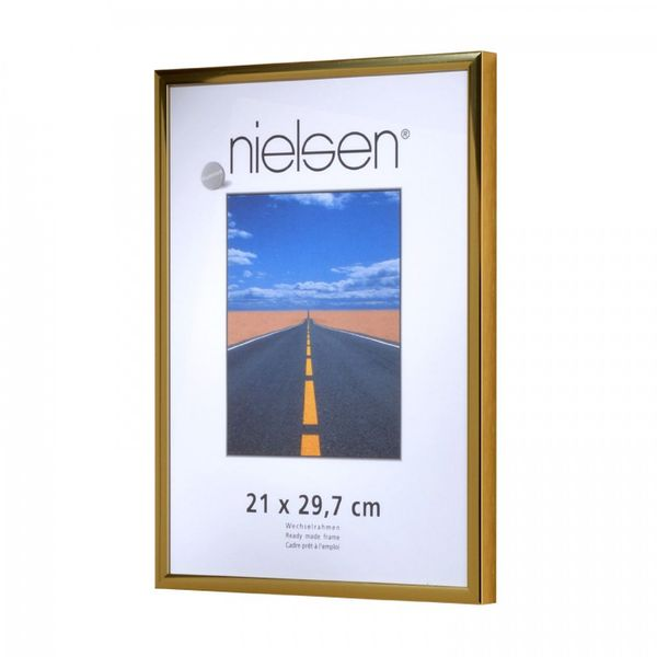 NIELSEN Pearl 21x29 cm A4 Gold Picture Frame