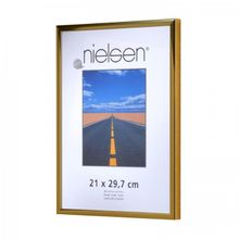 NIELSEN Pearl 21x29 cm A4 Gold Picture Frame 001
