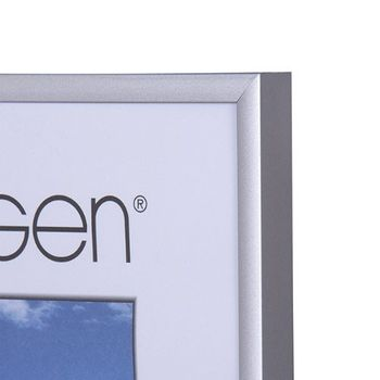 NIELSEN Pearl 29x42 cm A3 Frosted Silver Picture Frame – image 2
