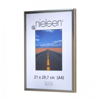 NIELSEN Pearl 29x42 cm A3 Polished Silver Picture Frame