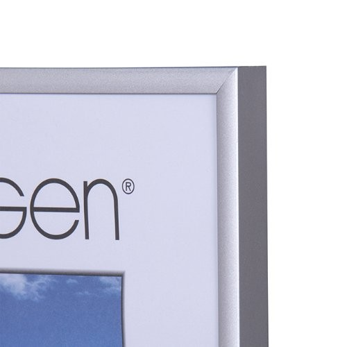 NIELSEN Pearl 30x30 cm Frosted Silver Picture Frame – image 2