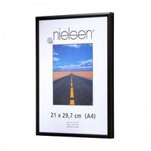 NIELSEN Pearl Perspex 21x29 cm A4 Matt Black Picture Frame 001